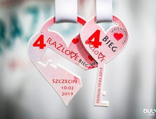 Wyniki 4. RAZlove Biegu Walentynkowego 2019